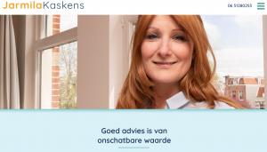 De website van makelaar Jarmila Kaskens.