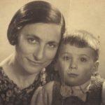 De vrouw en zoon van meneer X.