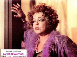 Simone Signoret in 'La vie devant soi' uit 1977